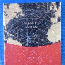 Líneas de navegación: R.M.S. AUSONIA. CUNARD WHITE STAR. LIST OF PASSANGERS. SOUTHAMPTON-HALIFAX, N.S & NEW YORK. 1937. Lote 57320973