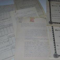 Líneas de navegación: LOTE DE HISTORIALES DE NAVEGACION , MARINA MERCANTE , 7 DOCUMENTOS, AÑO 1931. Lote 57578214