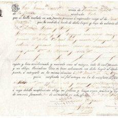 Líneas de navegación: CONOCIMIENTO DE EMBARQUE EN SANTANDER 1937. Lote 57631760