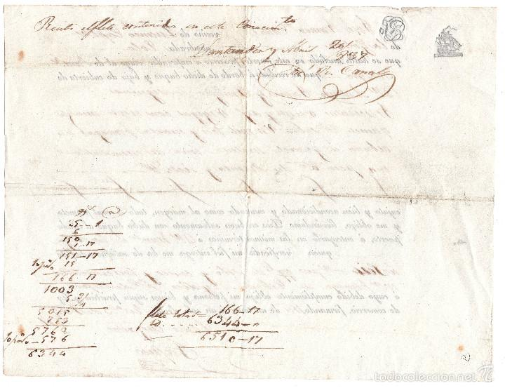 Líneas de navegación: CONOCIMIENTO DE EMBARQUE EN SANTANDER 1937 - Foto 2 - 57631760