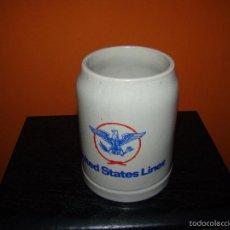 Líneas de navegación: ANTIGUA JARRA DE UNITED STATES LINES. Lote 57817786