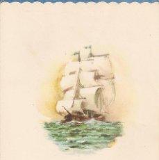 Líneas de navegación: MENU TRANSMEDITERRANEA 1965. Lote 58085313