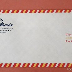 Líneas de navegación: IBERIA SOBRE DE CARTA. Lote 58538906