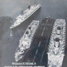 Líneas de navegación: NUMEROSAS FOTOGRAFIAS DE CRUCEROS Y SU HISTORIA GREAT CRUISE SHIPS AND OCEAN LINERS FROM 1954-1986. Lote 59648475
