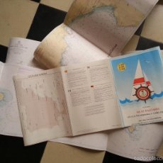 Líneas de navegación: ISLAS BALEARES CARTA DE NAVEGACION DEPORTIVA D800 D801 D 802 INSTITUTO HIDROGRAFICO DE LA MARINA . Lote 60990643