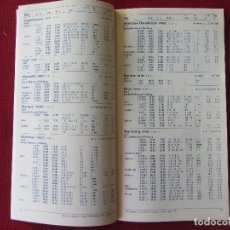 Linee di navigazione: HORARIO TIMETABLE. CROSSAIR(SUIZA). MAR/OCT. 1993. Lote 61393423