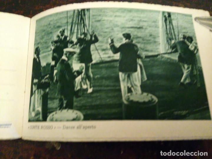 Líneas de navegación: Album del LLoyd Sabaudo Genova, conteniendo 24 CP barco Conte Biancamano, Verde y Rosso. 1926. - Foto 2 - 64663939