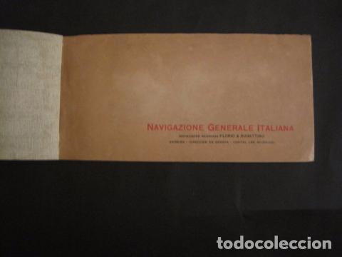 Líneas de navegación: NAVIGAZIONE GENERALE ITALIANA -GIULIO CESARE Y DUILIO SUD AMERICA - CATALOGO - VER FOTOS-(V-7095) - Foto 2 - 64716459