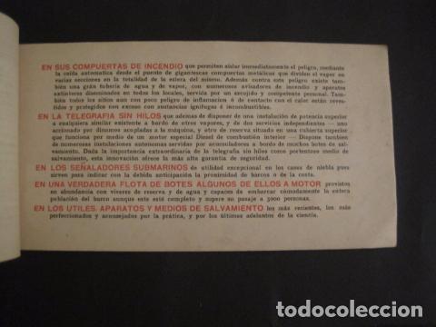 Líneas de navegación: NAVIGAZIONE GENERALE ITALIANA -GIULIO CESARE Y DUILIO SUD AMERICA - CATALOGO - VER FOTOS-(V-7095) - Foto 9 - 64716459