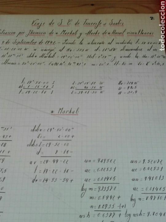 Líneas de navegación: Cuaderno de Bitácora calculo navegación - Foto 3 - 66224391