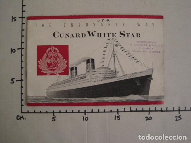 Líneas de navegación: PROSPECTO CUNARD WHITE STAR - VER FOTOS -(V-7418) - Foto 21 - 66249878