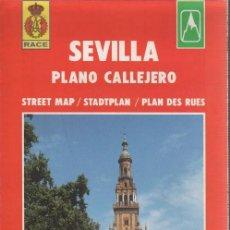 Linhas de navegação: MAPA Y PLANO CALLEJERO SEVILLA - RACE EVEREST SA. Lote 68129973