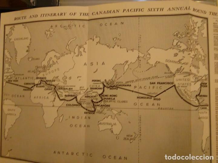 Líneas de navegación: Canadian Pacific.Sixth Annual Round the world Cruise. 1928-29. - Foto 2 - 68426245