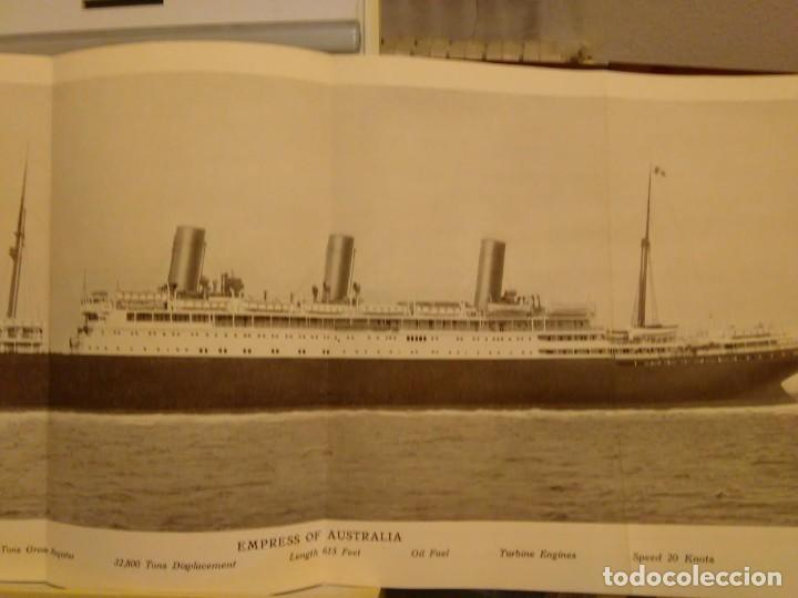 Líneas de navegación: Canadian Pacific.Sixth Annual Round the world Cruise. 1928-29. - Foto 3 - 68426245