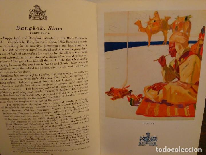 Líneas de navegación: Canadian Pacific.Sixth Annual Round the world Cruise. 1928-29. - Foto 4 - 68426245