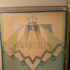 Líneas de navegación: NAVIGAZIONI GENERALI ITALIANA. AUGUSTUS. THE CLASS DE LUXE. SF (C1928). Lote 68428937