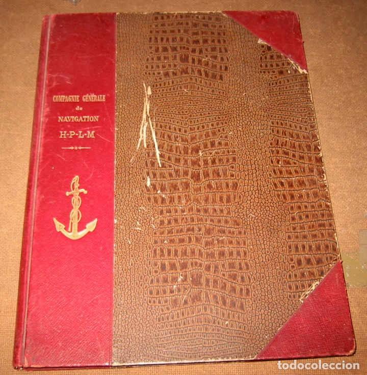 Líneas de navegación: Notice sur Compagnie Generale Navigation Havre-Lyon-Paris-Marseille 1914 Compañia Navegación Fluvial - Foto 2 - 70461293