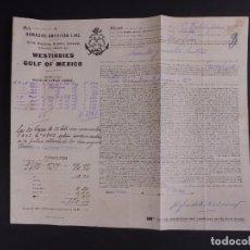 Líneas de navegación: HAMBURG-AMERICAN LINE 1911. Lote 74673419