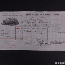 Líneas de navegación: VAPORES ANSELMO 1892. Lote 74675823