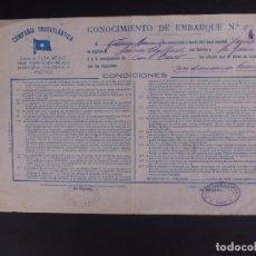 Líneas de navegación: COMPAÑÍA TRASATLÁNTICA 1927. Lote 74677035