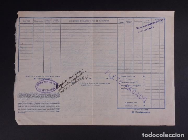 Líneas de navegación: COMPAÑÍA TRASATLÁNTICA 1927 - Foto 3 - 74677035
