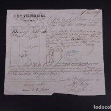 Líneas de navegación: J&P VIGUERIE 1849. Lote 74677619