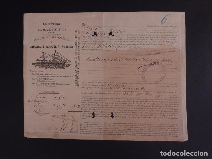 LA BÉTICA 1904 (Coleccionismo - Líneas de Navegación)
