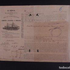 Líneas de navegación: LA BÉTICA 1904. Lote 74677991