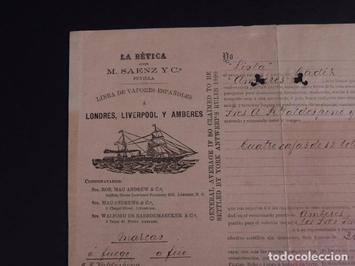 Líneas de navegación: LA BÉTICA 1904 - Foto 2 - 74677991