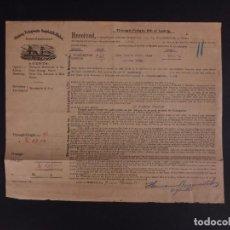 Líneas de navegación: OLDEMBURG-PORTUGIESISCHE 1910. Lote 162930004