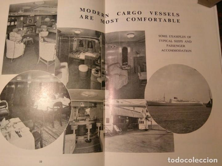 Líneas de navegación: Cook's World Travel Service. Sea Voyaging 1950-1 Barco Buque - Foto 3 - 76686847