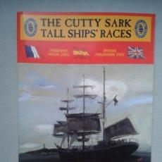 Líneas de navegación: THE CUTTY SARK TALL SHIP´S RACES. ALICANTE. LA CORUÑA. MÁLAGA. SANTANDER. TEMA BARCOS.. Lote 79366125