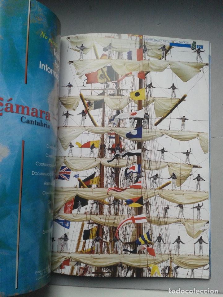 Líneas de navegación: The Cutty Sark Tall Ship´s Races. Alicante. La Coruña. Málaga. Santander. Tema Barcos. - Foto 3 - 79366125