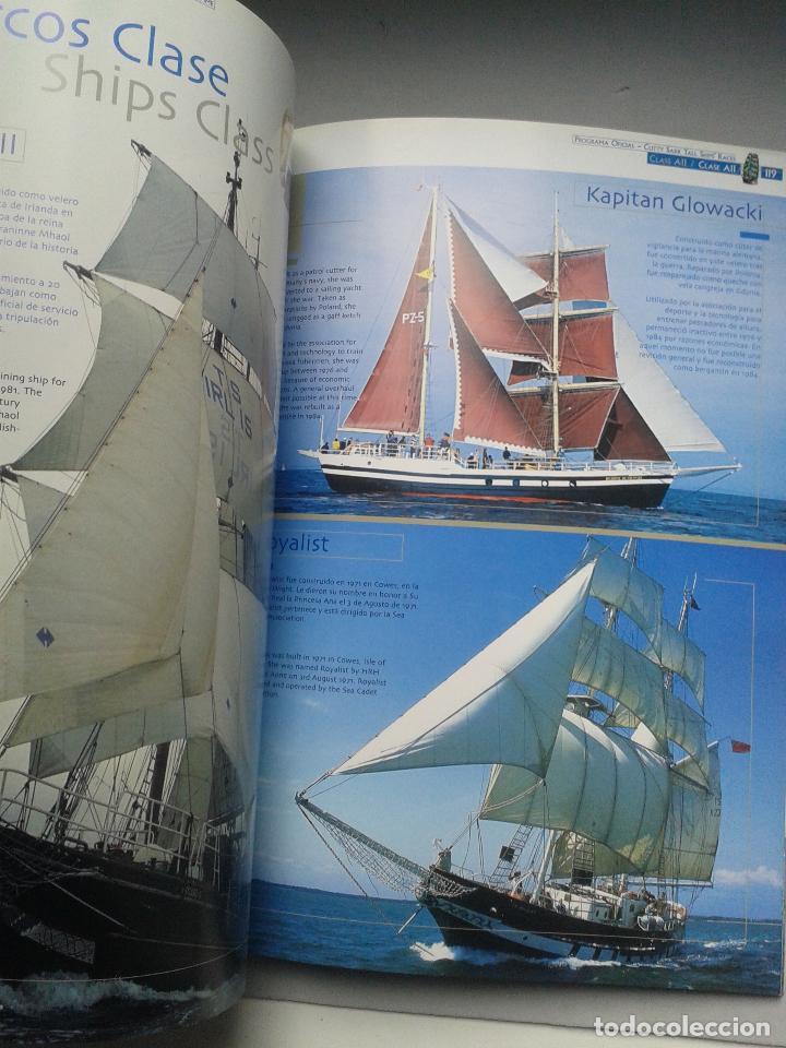 Líneas de navegación: The Cutty Sark Tall Ship´s Races. Alicante. La Coruña. Málaga. Santander. Tema Barcos. - Foto 4 - 79366125