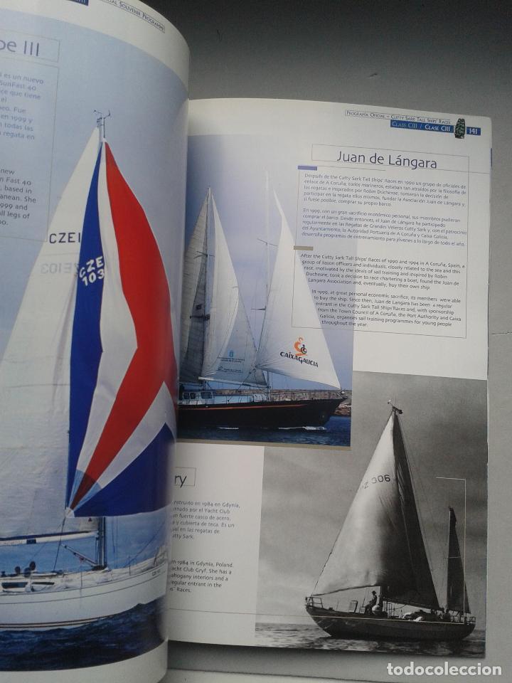 Líneas de navegación: The Cutty Sark Tall Ship´s Races. Alicante. La Coruña. Málaga. Santander. Tema Barcos. - Foto 5 - 79366125