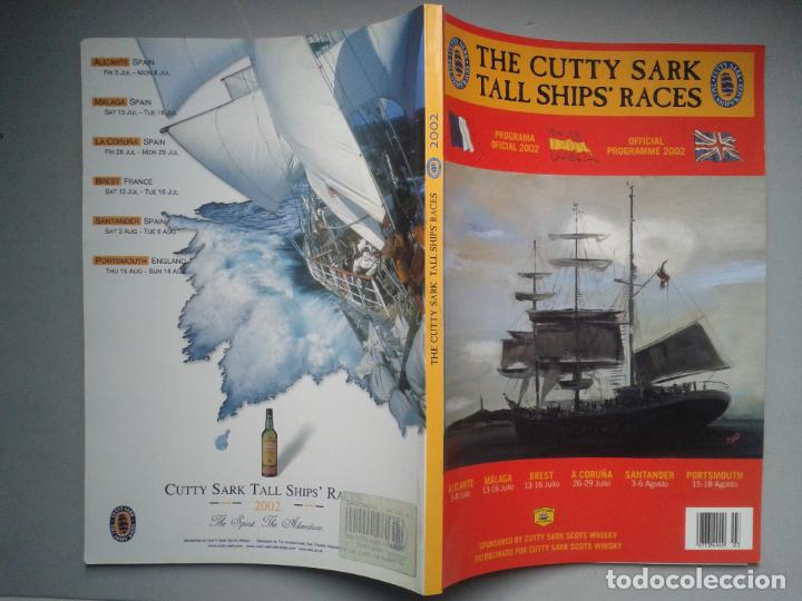 Líneas de navegación: The Cutty Sark Tall Ship´s Races. Alicante. La Coruña. Málaga. Santander. Tema Barcos. - Foto 6 - 79366125