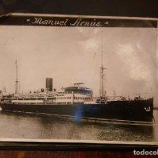 Líneas de navegación: COMPAÑIA TRASATLANTICA FOTOGRAFÍA TRASATLANTICO MANUEL ARNÚS. 1923-1938 BARCO BUQUE. Lote 79385977