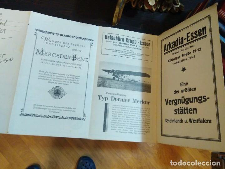 Líneas de navegación: STRECKENKARTE DEUTSCHE LUFTHANSA A.G (LUFT HANSA) CIRCA 1930 - Foto 4 - 82899860