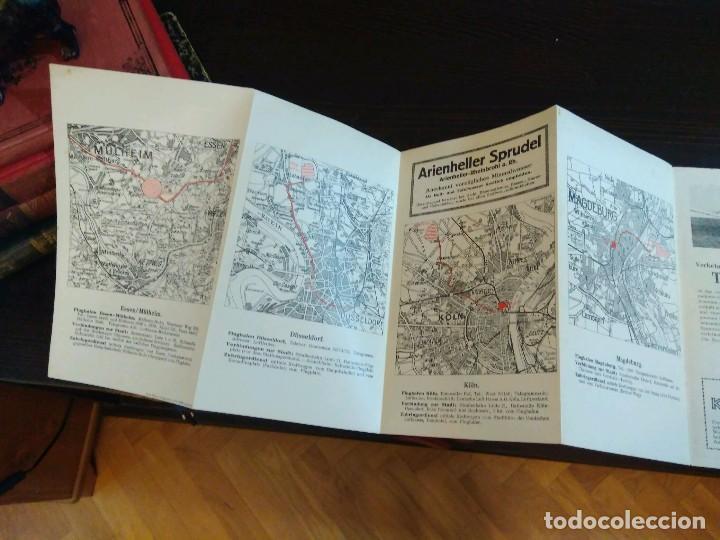 Líneas de navegación: STRECKENKARTE DEUTSCHE LUFTHANSA A.G (LUFT HANSA) CIRCA 1930 - Foto 6 - 82899860