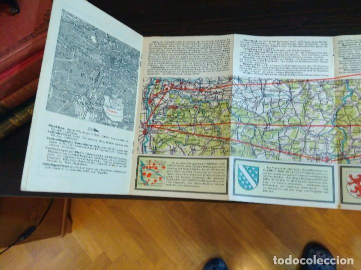 Líneas de navegación: STRECKENKARTE DEUTSCHE LUFTHANSA A.G (LUFT HANSA) CIRCA 1930 - Foto 8 - 82899860