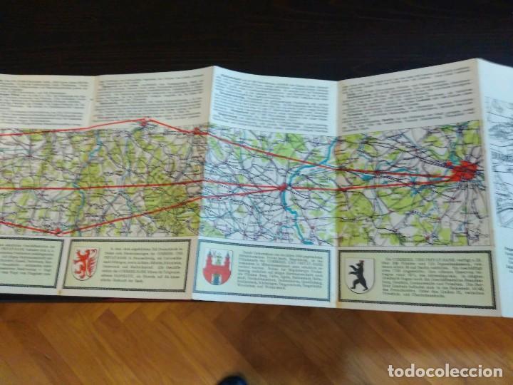 Líneas de navegación: STRECKENKARTE DEUTSCHE LUFTHANSA A.G (LUFT HANSA) CIRCA 1930 - Foto 9 - 82899860