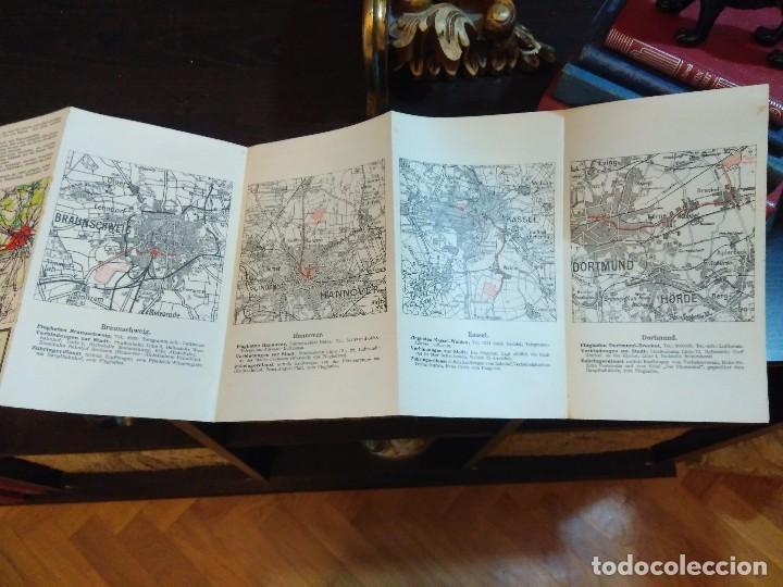 Líneas de navegación: STRECKENKARTE DEUTSCHE LUFTHANSA A.G (LUFT HANSA) CIRCA 1930 - Foto 10 - 82899860