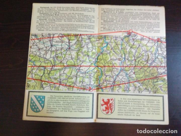 Líneas de navegación: STRECKENKARTE DEUTSCHE LUFTHANSA A.G (LUFT HANSA) CIRCA 1930 - Foto 13 - 82899860