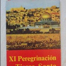 Líneas de navegación: XI PEREGRINACION TIERRA SANTA.TRASATLANTICO CABO SAN ROQUE.YBARRA.1976. Lote 90684985
