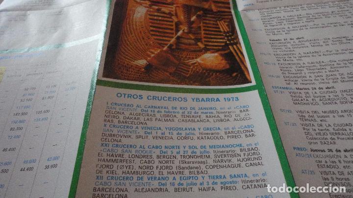 Líneas de navegación: X CRUCERO SEMANA SANTA.TRASATLANTICO CABO SAN ROQUE.YBARRA.1973 - Foto 4 - 91968060