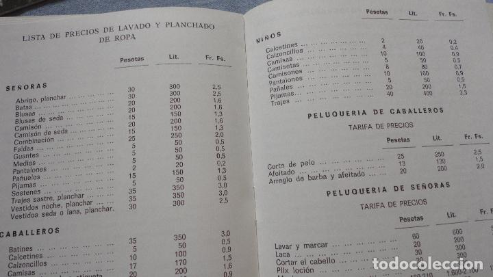 Líneas de navegación: FOLLETOS.CRUCERO SANTIAGO COMPOSTELA.RIAS GALLEGAS.TRASATLANTICO.CABO SAN ROQUE.YBARRA.1965 - Foto 16 - 94959207