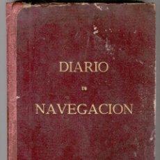 Líneas de navegación: LIBRO DEL DIARIO DE NAVEGACIÓN DE LA MOTONAVE ZULOAGA (GIJÓN) 1961 ( 200 DIAS ). Lote 96450603