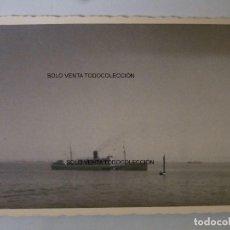 Líneas de navegación: BARCO DE VAPOR CALIFA NAVIERA CONDAL FOTO ANTIGUA ORIGINAL. Lote 97908215