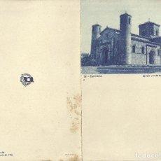 Líneas de navegación: VAPOR MARQUÉS DE COMILLAS - MENÚ DE SEGUNDA CLASE / COMPAÑÍA TRASATLANTICA ESPAÑOLA 1936. Lote 107136559
