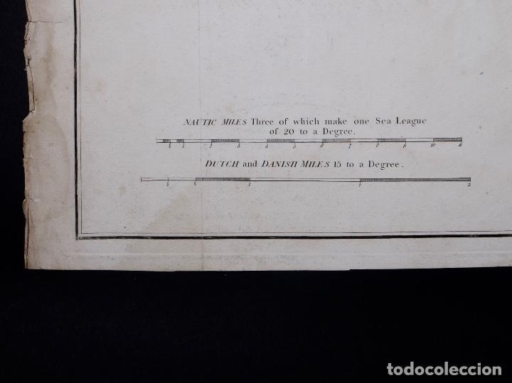Líneas de navegación: CARTA NAUTICA NORTH FORELAND, THE DOWNS AND SOUTH FORELAND, 1800 - Foto 4 - 111787239